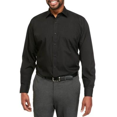 サドルブレッド シャツ トップス メンズ Big & Tall  Easy Care Stretch Collar Dress Shirt -