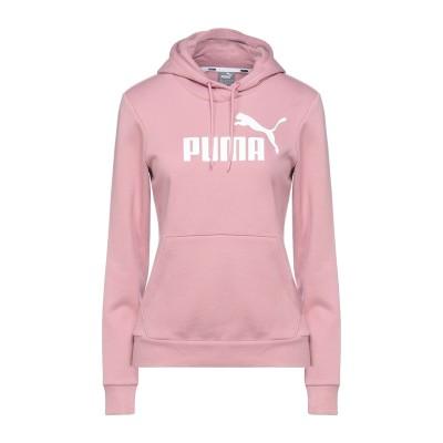 プーマ PUMA スウェットシャツ ピンク XS コットン 68% / ポリエステル 32% スウェットシャツ