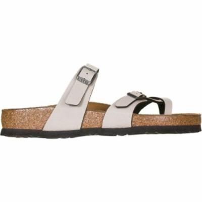 ビルケンシュトック Birkenstock レディース サンダル・ミュール シューズ・靴 Mayari Limited Edition Sandal Stone Pull Up Birko Flor