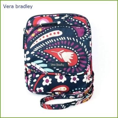 [Vera Bradley]ヴェラ・ブラッドリー ミニ ヒップスター ショルダー バッグ Lighten Up Mini Hipster Painted Paisley ペインテッド ペイズリー 軽量 薄型