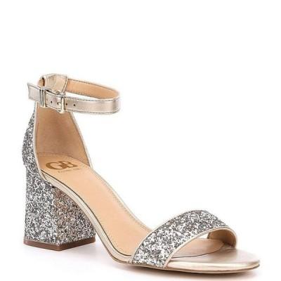 ジービー レディース サンダル シューズ Block-Party Glitter Two-Piece Sandals