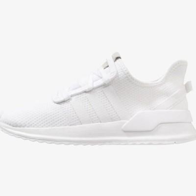 アディダス メンズ 靴 シューズ U_PATH RUN - Trainers - footwear white/core black