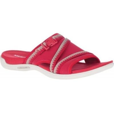 メレル Merrell レディース サンダル・ミュール シューズ・靴 District Muri Slide Chili Textile/Lycra/Neoprene