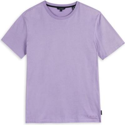 テッドベーカー Ted Baker メンズ Tシャツ トップス Regular Fit T-Shirt PURPLE