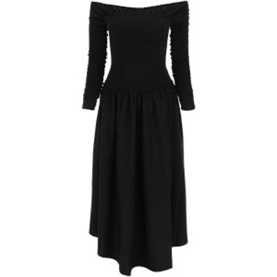 KHAITE/カイト Black Khaite ren draped dress レディース 春夏2021 8569400 K400 ik