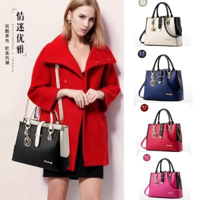 【2021新品新作】春の韓版新作ファッション 成人女性OLバッグのショルダーバッグ 斜めショルダーバッグ 韓国版のハンドバッグ じゅんしょく PU軟らかい面バッグ 手提げ袋 KK06