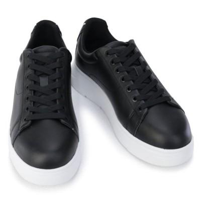 エンポリオアルマーニ EMPORIO ARMANI 靴 メンズ スニーカー ブラック×ブラック(X4X312 XM490 K001 BLACK+BLACK) 2020年秋冬