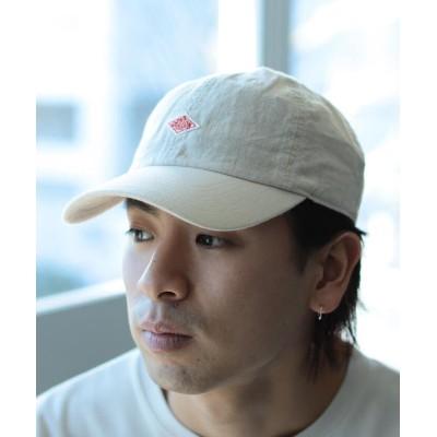 【ビームス メン】 DANTON × BEAMS / 別注 Linen 6Panel Cap メンズ 生成 0 BEAMS MEN