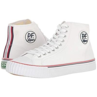 ピーエフライヤーズ Center Hi メンズ スニーカー 靴 シューズ White