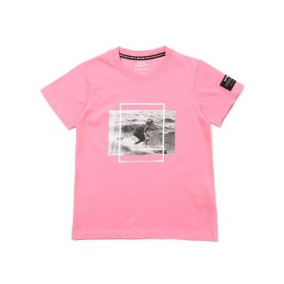 BECAUSE キッズTシャツ / NATAL SURF PRINT T-SHIRT KIDS