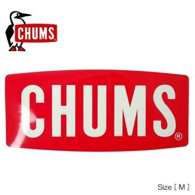 チャムス ステッカー チャムスロゴ Mサイズ CHUMS CH62-1071 アウトドア 車 シール 自転車 メール便対応 Sticker CHUMS Logo