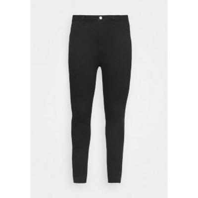 ミスガイデッド レディース デニムパンツ ボトムス LAWLESS SLASH KNEE HIGHWAISTED - Jeans Skinny Fit - black black