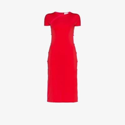 マルシア Marcia レディース パーティードレス ミドル丈 ワンピース・ドレス TchikiBoum midi dress red