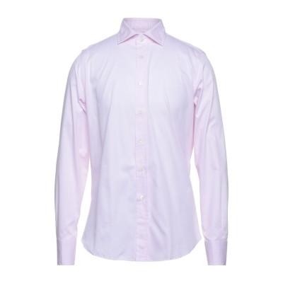 ドルモア DRUMOHR シャツ ピンク 41 コットン 100% シャツ