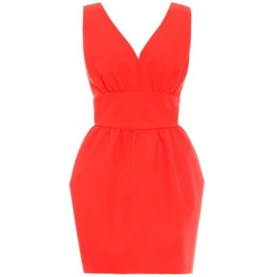 エムエスジーエム MSGM レディース パーティードレス ワンピース・ドレス cady minidress Red