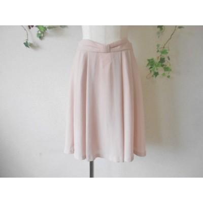 レッセパッセ LAISSE PASSE ウエスト リボン の 可愛い スカート 38