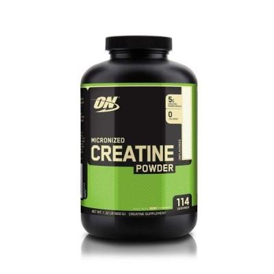オプティマムニュートリション マイクロナイズド クレアチンパウダー 無香 600g Optimum Nutrition Micronized Creatine Powder, Unflavored 1.32 lb