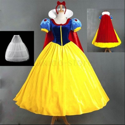新作 おしゃれ 白雪姫 ハロウィン 衣装 姫系 仮装 コスチューム サンタ コスプレ 大人用 演出服 パーティーグッズ