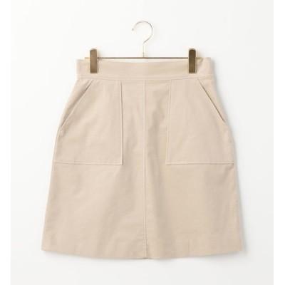 【シップス/SHIPS】 Khaju:ツイルベルベットスカート