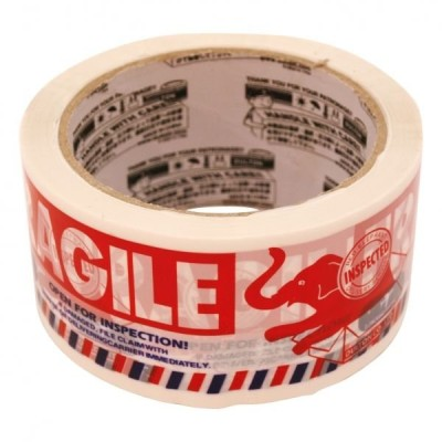 PRINTED PACKING TAPE(カートンテープ) FRAGILE  PPT-7