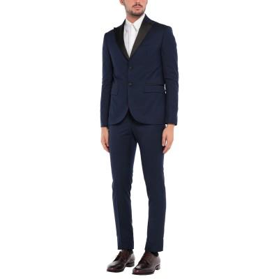 TANZARELLI スーツ ダークブルー 46 バージンウール 95% / ポリウレタン 5% スーツ