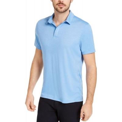 アルファニ Alfani メンズ ポロシャツ トップス AlfaTech Stretch Solid Polo Shirt Regatta Blue