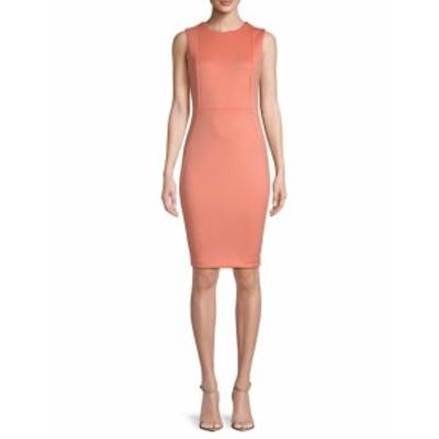 カルバンクライン レディース ワンピース Sleeveless Bodycon Dress