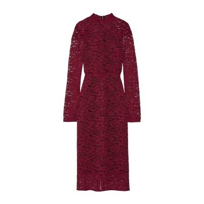 REBECCA VALLANCE 7分丈ワンピース・ドレス ボルドー 6 レーヨン 65% / ナイロン 35% 7分丈ワンピース・ドレス