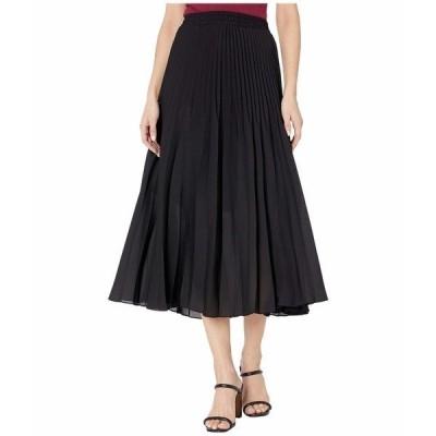 【当日出荷】 マックススタジオ レディース Pleated Skirt Black  【サイズ XS】