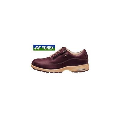 ヨネックス ウォーキングシューズ レディース YONEX LC21 ワインレッド 婦人 靴