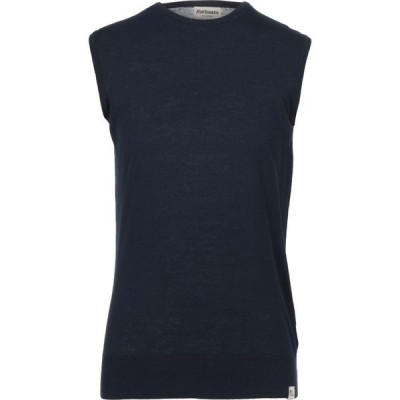 ロイロジャース ROY ROGER'S メンズ ノースリーブ トップス Sleeveless Sweater Dark blue