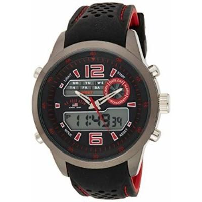 腕時計 ユーエスポロアッスン メンズ U.S. Polo Assn. Sport Men's US9507 Analog-Digital Display A