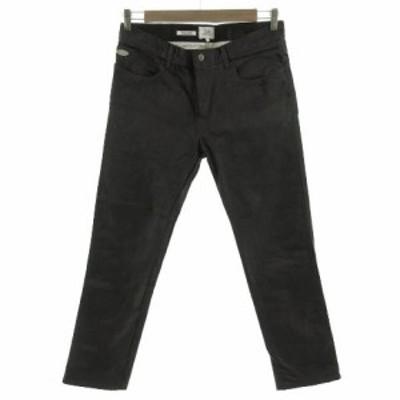 【中古】クライミー CRIMIE ジーンズ デニム オイルド加工 日本製 ブラック 黒 L メンズ