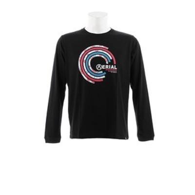 Tシャツ メンズ 長袖 BOTANICAL CIRCLE AB93AW1113 BLK オンライン価格