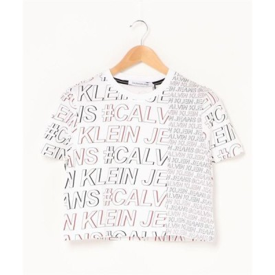 tシャツ Tシャツ 【CALVIN KLEIN JEANS】ロゴ プリント T シャツ