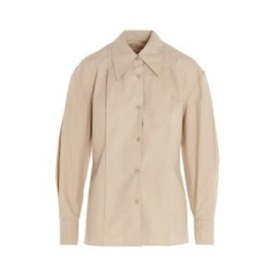 LOW CLASSIC/ロウクラシック コットンシャツ Beige レディース 秋冬2020 LOW20FWSH02BEBEIGE ju