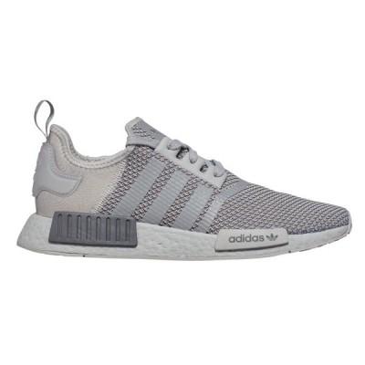 アディダス スニーカー シューズ メンズ adidas Originals Men's NMD_R1 Shoes Grey/Grey/Black