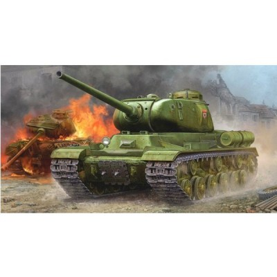 『新品即納』{PTM}05587 1/35 ソビエト軍 JS-1重戦車 スターリン1 プラモデル トランペッター(20160116)