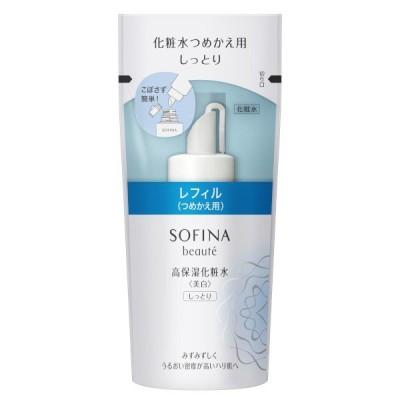 花王 ソフィーナ ボーテ 高保湿化粧水<美白> しっとり つめかえ用 130 ml