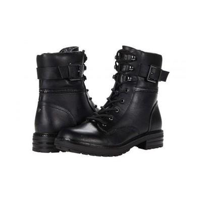 GUESS ゲス レディース 女性用 シューズ 靴 ブーツ レースアップ 編み上げ Gallton - Black