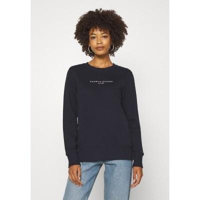 トミー ヒルフィガー パーカー・スウェットシャツ レディース アウター REGULAR - Sweatshirt - dark blue