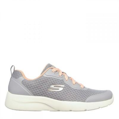 スケッチャーズ Skechers レディース ランニング・ウォーキング シューズ・靴 Dynamight 2 Runners Grey/Coral