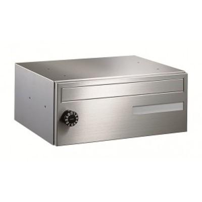 ナスタ 集合住宅用ポスト 前入前出タイプ KS-MB608S-L (1戸用) 屋内用 『郵便ポスト』 ヘアーラ