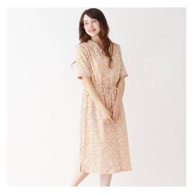 【イッツデモ/ITS'DEMO】 ヴィンテージサテン小花ワンピース