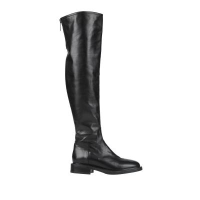 LORETTA PETTINARI ブーツ ブラック 37 革 ブーツ