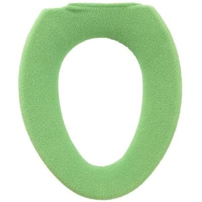 オカ(OKA) 便座カバー グリーン O型専用 コムフォルタ5 (抗菌 防臭)
