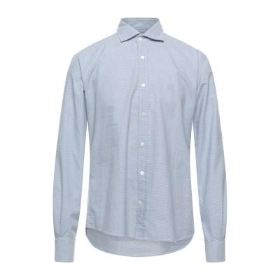 CORNELIANI ID シャツ ブルー 40 コットン 100% シャツ