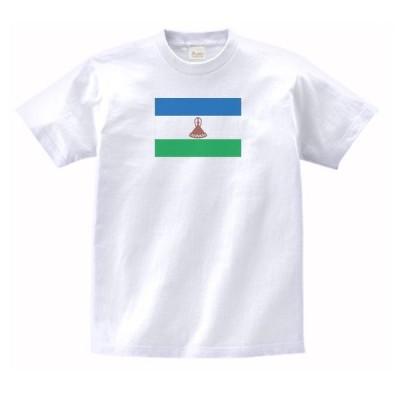 レソト王国 国 国旗 Tシャツ