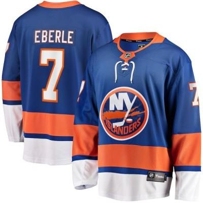 ファナティクス ブランデッド メンズ Tシャツ トップス Jordan Eberle New York Islanders Fanatics Branded Home Breakaway Player Jersey