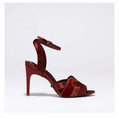リース Reiss レディース サンダル・ミュール シューズ・靴 Amber Sandal Ld99 Chestnut Calf